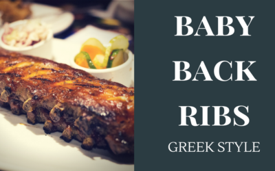 Greek Style Baby Back Ribs